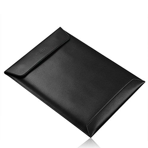 YiJee Portatil Fundas Bolso Portátiles Maletín Bolsa para Ordenador 12 Pulgada Negro