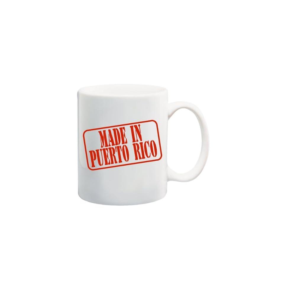 MADE IN PUERTO RICO Mug Cup   11 ounces