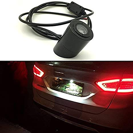 Amazon.com: SZSS-CAR Car Laser Tail red Led Light Anti-Collision Rear-end Fog Light Rearing Warning Waterproof Auto Brake Parking Lamp Rearing Light Land ...