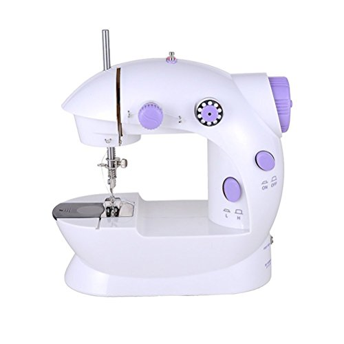 - Cworlds NS202 Mini 2-Speed Sewing Machine with Foot Pedal sewing machines, Purple sewing machines sew cool sewing machine