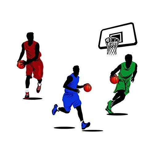HCCY Salón Dormitorio Gimnasio Club Baloncesto Adhesivo Adhesivo ...