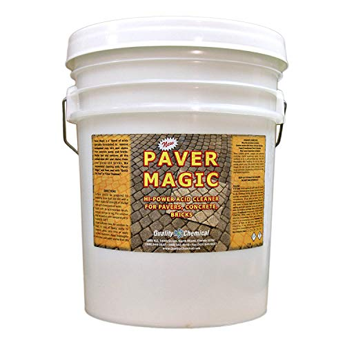 Paver Magic - High Power Concrete, Brick and Paver Cleaner-5 gallon pail