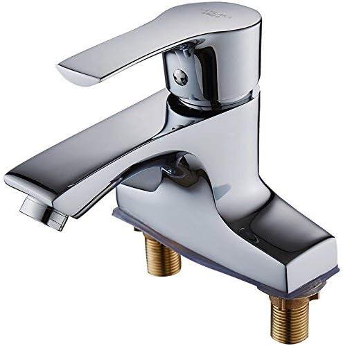ZT-TTHG 浴室の蛇口ホット盆地洗面台シングルダブルシンク浴室の蛇口、ダブル穴ホットとコールド現代のFaucetquality保証とシンプルな古典的なレトロラグジュアリーホームデコレーション