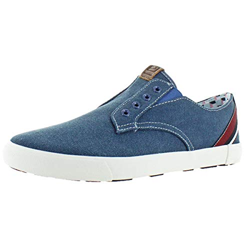 Ben Sherman Men's Percy Laceless Navy Canvas 45 M EU