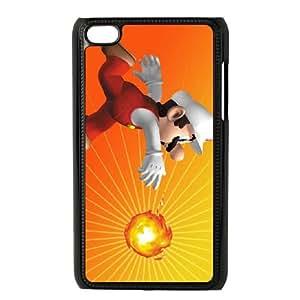Super Mario iPod Touch 4 Case Black DIY Gift xxy002_0340022
