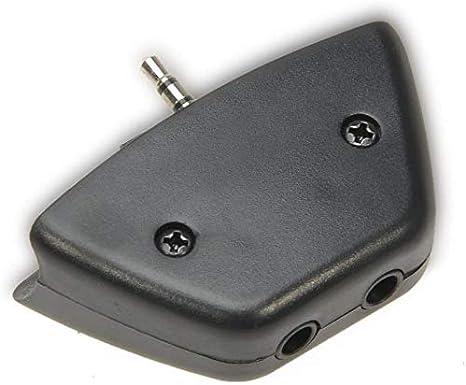 2.5mm Jack Micrófono Auricular a 3.5mm convertidor de adaptador de ...