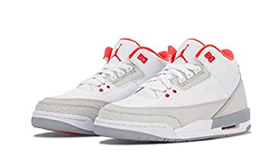Nike Girls Gs Air Jordan 3 Retro Gs Girls Blanco Crimson 4614f5