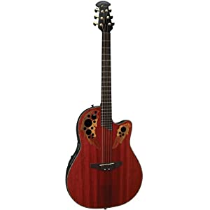 Ovation CE44 Celebrity Elite Mid-Depth Cutaway Acoustic ...