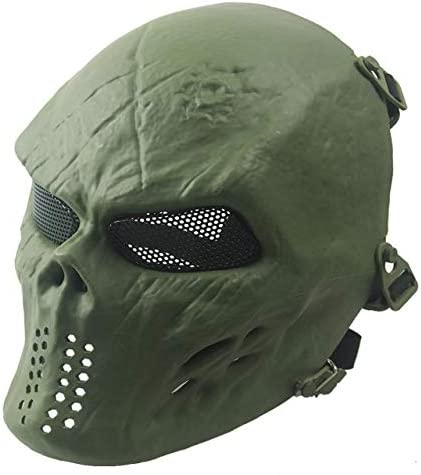 CS Games Skull Skeleton Full Face Mask Tactical Paintball Airsoft Protect Mask