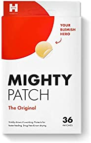 Mighty Patch Original from Hero Cosmetics - Hydrocolloid Acne Pimple Patch for Zits and Blemishes, Spot Treatm