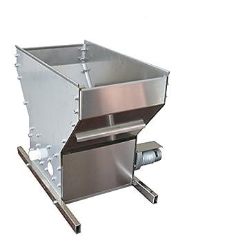 2 ruedas eléctrico uva triturador eléctrico Equipo Máquina de Picar de destilación 500 kg/h: Amazon.es: Hogar