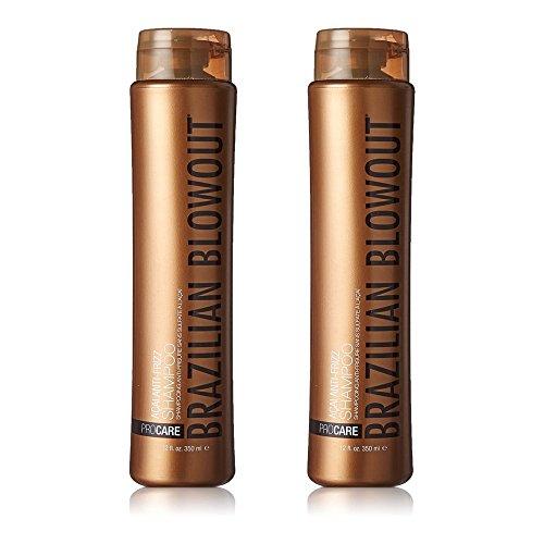 Brazillian Blowout Acai Anti-Frizz Shampoo 12oz, 2-pack ...