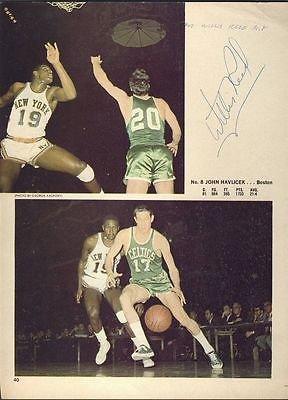 Willis Reed Knicks Autographed/Signed 8x10 Photo JSA 123439