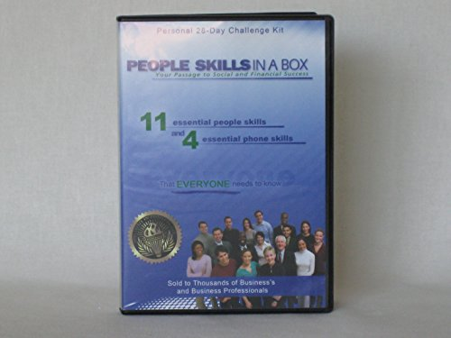 Price comparison product image People Skills In a box (Compact Discs) -11 Essential people skills and 4 essential phone skills-That everyone needs to know-Roger J. Preble