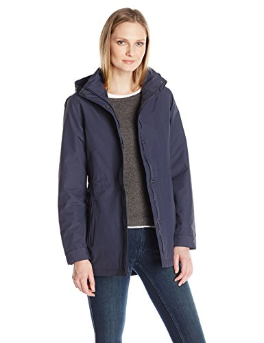 Graphite Womens Jacket - Charles River Apparel Women's Logan Jacket, Graphite Navy, S
