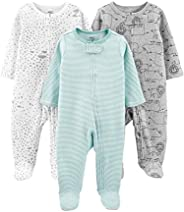 Simple Joys by Carter's Unisex-Baby 3-Pack Neutral Sleep and