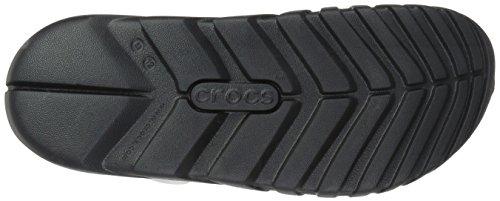 Crocs Unisex Duetto Max Zoccolo Bianco / Nero