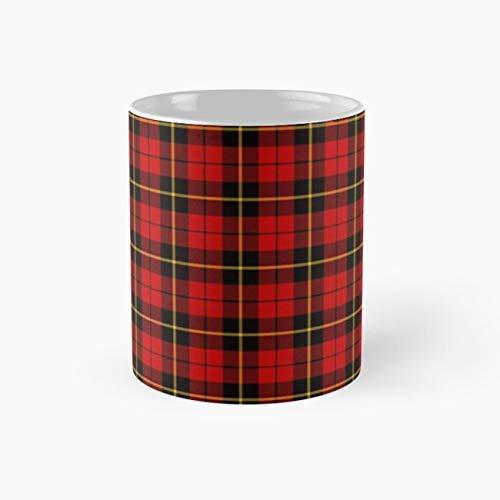 Clan Wallace Tartan Mug, wallace Tea Cups, 11 Ounce Ceramic Mug, Perfect Novelty Gift Mug, Funny Mugs Gift, Tea Mugs, Funny Coffee Mug ()