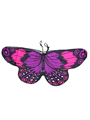 Monarch Butterfly Wing (Halloween Dress-ups Fanciful Fabric Wings Monarch Butterfly purple)