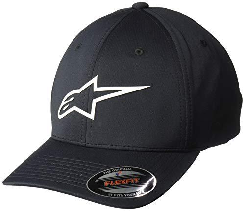 Alpinestars Mens Logo Flexfit Tech Hat, Cuvred Bill Structured Crown