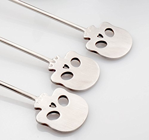 DineAsia Skull Spoon Swizzle Stick product image