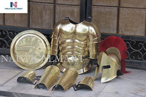 NAUTICALMART Roman Muscle Armor Set Medieval Cuirass with