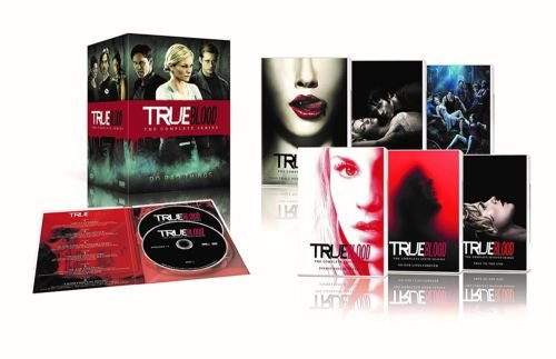 Price comparison product image True Blood The Complete Series Seasons 1,2,3,4,5,6,7 DVDS Disc Box Set NEW Sealed