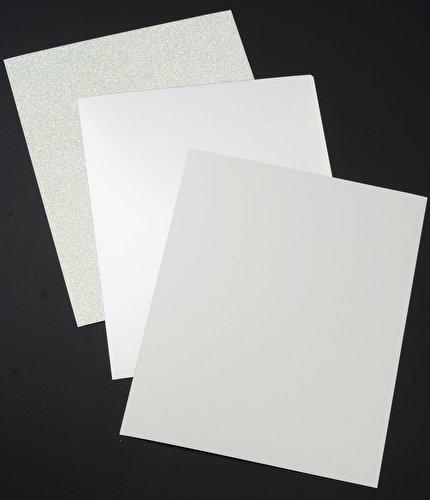 Crafter's Companion CP-LMIX-SILVER811 Glitter, Mirror cardstock, Silver