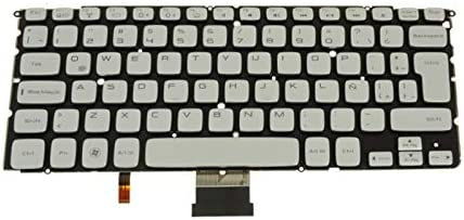 Laptop Keyboard for DELL XPS 14Z L412Z P24G 15Z L511Z P12F LA Latin America MP-10K86LAJ698 PK130JN1A14 00F4XK 0F4XK Silver with Backlit New and Original