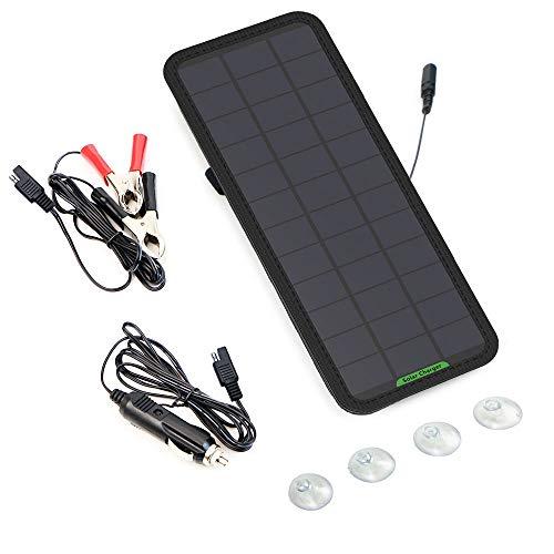 GIARIDE Cargador Solar Sunpower Panel Módulo Solar de 12V Baterías Cargador de Coche Portátil Fotovoltaico para Coches…