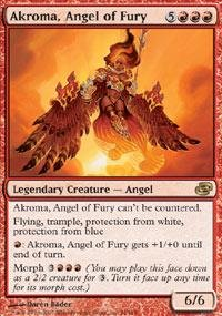 Magic: the Gathering - Akroma, Angel of Fury - Planar Chaos - Foil