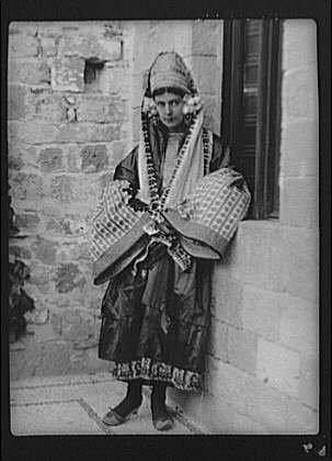 1929 Costume Jewelry (Photo: Jacobi,Madame,clothing,dress,women,nitrates,costume,Arnold Genthe,1929 2)