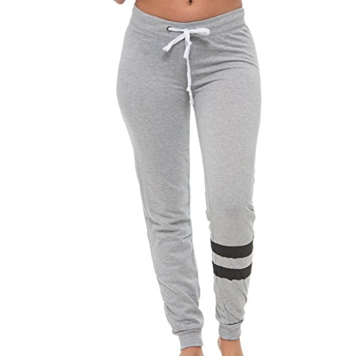 Price comparison product image [E300P-HG-S] Coco-Limon Boss Capri Womens Jogger, French Terry Heather Grey Small