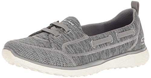 Skechers Damen Microburst-topnotch Slip On Sneaker Grigio