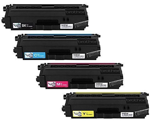 Reseller TN-336 High Yield Toner Cartridge Set (Black, Cyan, Magenta, Yellow)