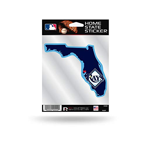Tampa Bay Rays Home State Sticker Flat Die Cut Decal Emblem Auto Home Baseball