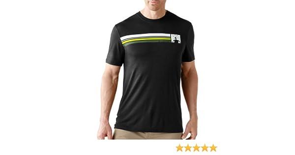 SmartWool Camiseta de Acampada y Senderismo para Hombre