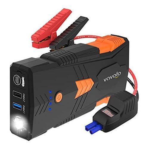 chollos oferta descuentos barato Vavofo Batería de arranque portátil para coche 1500 A G23P 2019 1200 mAh hasta 8 L de gas motor diésel de 6 5 l batería de coche de 12 V