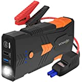 VAVOFO 1500A Portable Jump Starter G23P with QDSP, 12800mAh (Up to 8.0L Gas, 6.5L Diesel Engine), 12V Auto Battery Booster, Battery Chargers Power Pack, Built-in LED Light