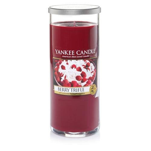 YANKEE CANDLE Pillar Candela Grande, Berry Trifle 1342531E