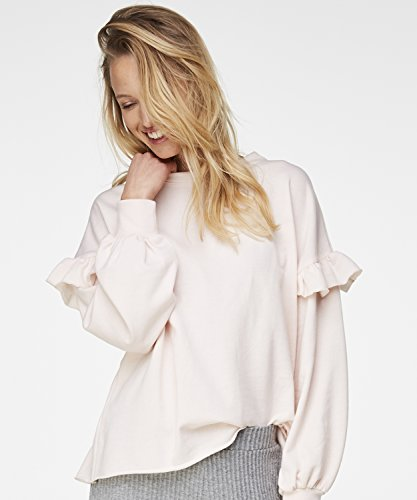 Hunkemöller Damen Sweater Ruffle 131483
