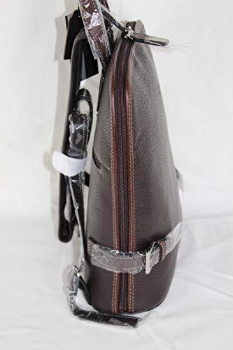 dos sac réf 9609 Ritelle cuir Marron en Petit à q6tTwwAgv