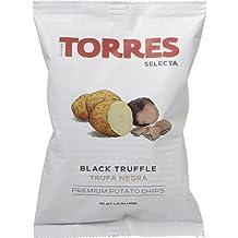 Patatas Fritas Torres Black Truffle Premium Potato Chips (5 X 1.41 Ounce)