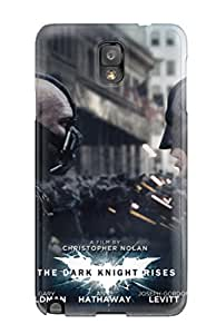 3873657K10203353 Top Quality Case Cover For Galaxy Note 3 Case With Nice Bane And Batman In The Dark Knight Rises Appearance