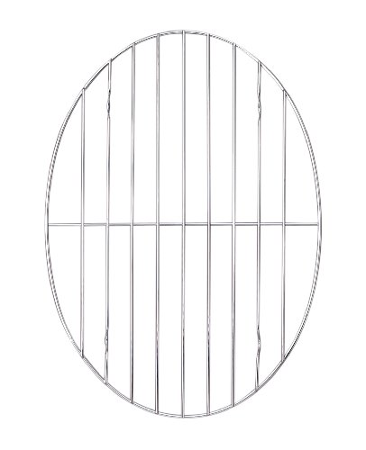 Harold Imports 11-3/4-by-8-1/2-Inch Oval Roasting Rack