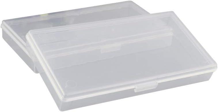 SUPVOX 10PC Sin Caja de contenedores de Almacenamiento de Granos de Rejilla Organizador de Almacenamiento Transparente para Joyas Pendientes Anillos Cuentas y Otros artículos pequeños