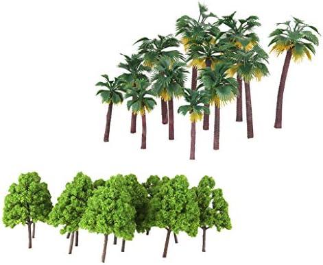 木モデル ツリーモデル 鉄道模型 砂テーブル ジオラマ 建築景観 レイアウト