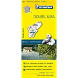 Carte Doubs, Jura Michelin