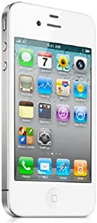 amazon com apple iphone 4 16gb white verizon cdma no sim slot rh amazon com iPhone Glass iPhone 5S