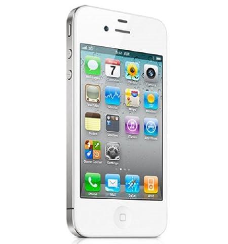 Apple iPhone 4S 16GB White Factory Unlocked (Iphone 4 Unlocked Cdma)